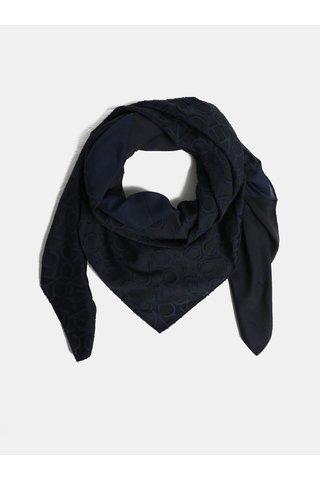 Tmavě modrá dámská šála Calvin Klein Jeans