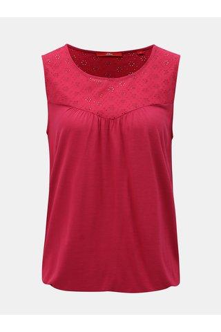 Bluza roz cu madeira s.Oliver