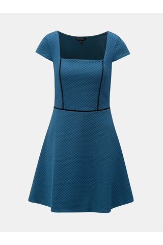 Rochie albastru inchis structurata Miss Selfridge