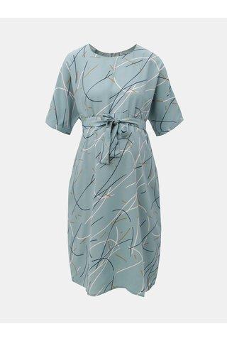 Rochie albastru deschis cu snur si model pentru femei insarcinate Mama.licious Aslan