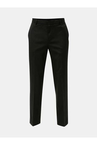 Pantaloni negri tailored fit regular Burton Menswear London