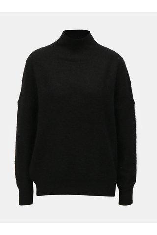 Helanca neagra din lana Moss Copenhagen