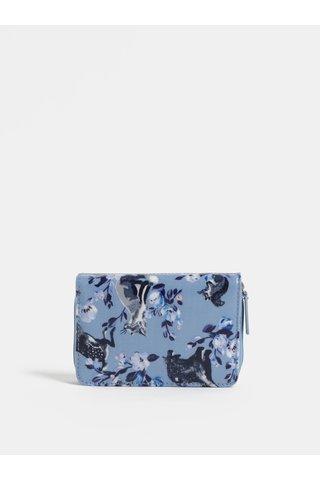 Modrá vzorovaná peněženka Cath Kidston