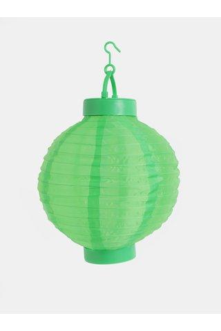 Lampion solar verde Kaemingk