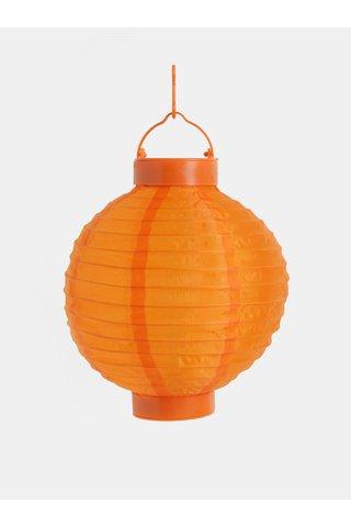 Lampion solar oranj Kaemingk