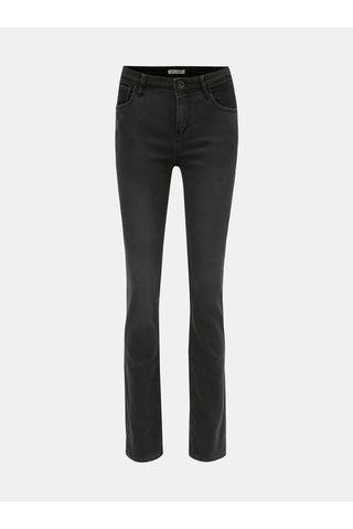 Blugi de dama negri slim fit din denim Garcia Jeans