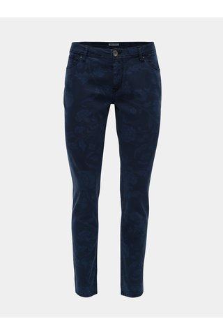 Blugi de dama albastru inchis slim fit din denim Garcia Jeans