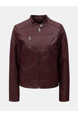 Jacheta visinie din piele sintetica VERO MODA