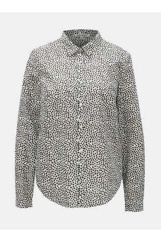 Camasa de dama negru-alb cu buline Garcia Jeans
