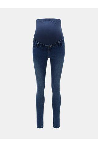 Blugi albastri skinny din denim pentru femei insarcinate Dorothy Perkins Maternity Darcy