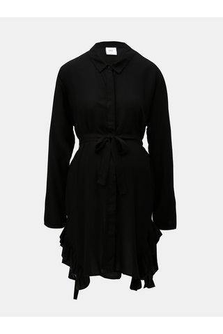 Camasa neagra lunga pentru femei insarcinate Mama.licious Blue Bell