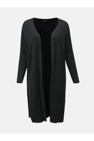 Černý dlouhý kardigan Zizzi