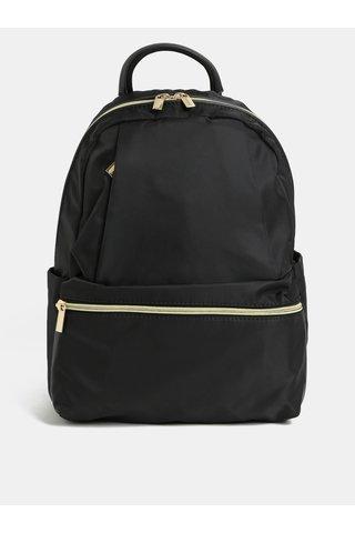 Černý batoh s detaily ve zlaté barvě ZOOT