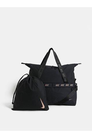 Geanta de dama sport neagra cu sac pentru pantofi Nike 31 l
