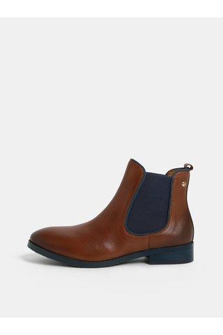 Hnědé kožené chelsea boty Pikolinos Cuero