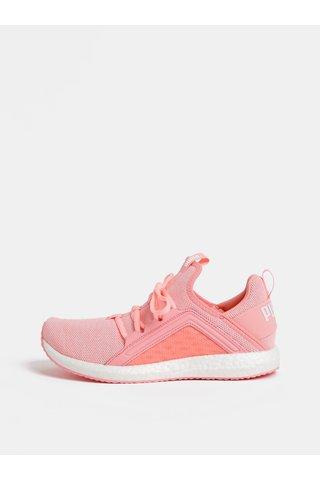 Růžové dámské neonové tenisky Puma Mega NRGY
