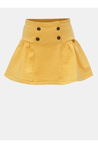 Žlutá sukně s knoflíky BÓBOLI