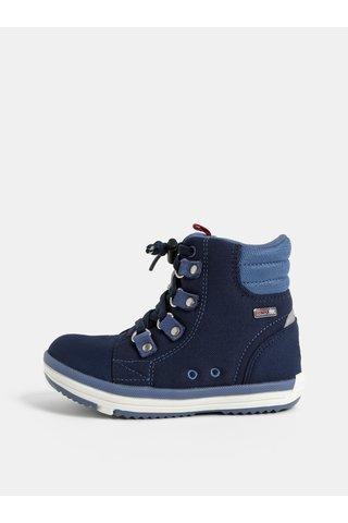 Tmavě modré dětské kotníkové boty Reima