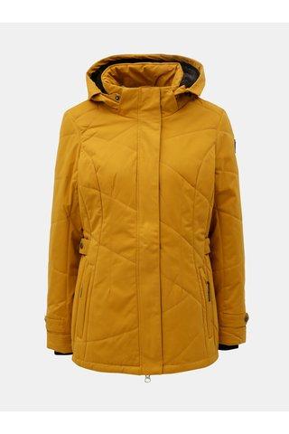Jacheta de dama de iarna mustar cu gluga detasabila killtec