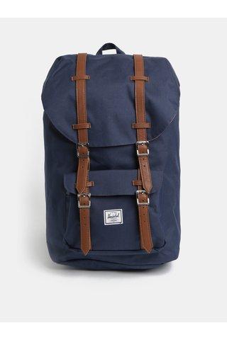 Tmavě modrý batoh Herschel Little America 25 l