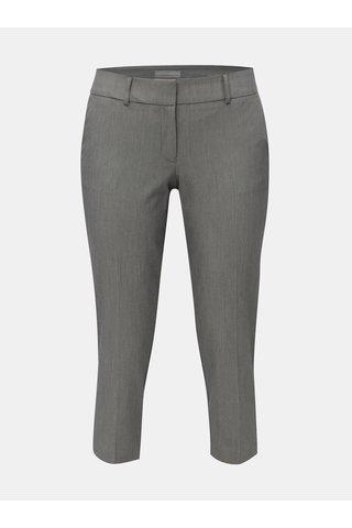 Pantaloni plisati gri melanj Dorothy Perkins Petite