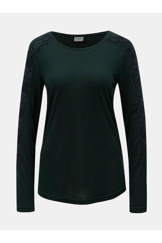 Tricou verde inchis Jacqueline de Yong Olivia