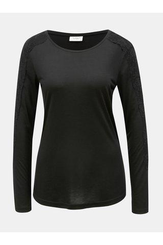 Tricou negru Jacqueline de Yong Olivia