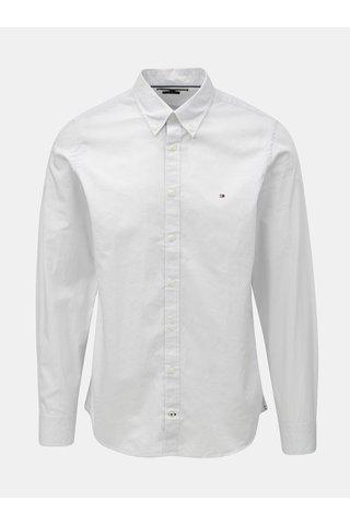 Světle šedá pánská slim fit košile Tommy Hilfiger Diamond