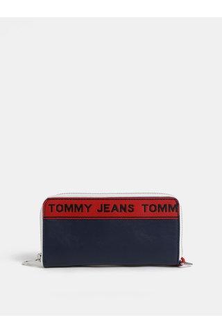 Tmavě modrá dámská peněženka s logem Tommy Hilfiger Tape