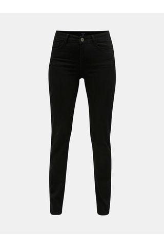 Černé straight fit džíny Yest Lynn