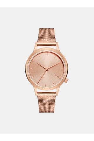 Dámské hodinky v růžovozlaté barvě Komono Lexi Royale