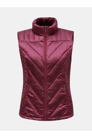Růžová prošívaná vesta Yest