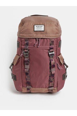 Hnědo-vínový batoh Burton 28 l