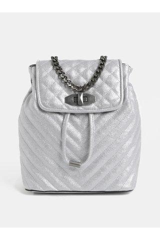 Rucsac de dama mic elegant argintiu ALDO