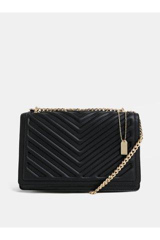 Černá malá prošívaná kabelka ALDO