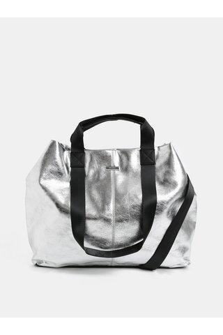 Shopper ve stříbrné barvě ALDO