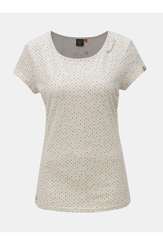 Tricou de dama gri deschis cu model Ragwear
