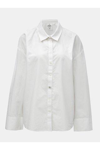 Bílá oversize košile Cheap Monday