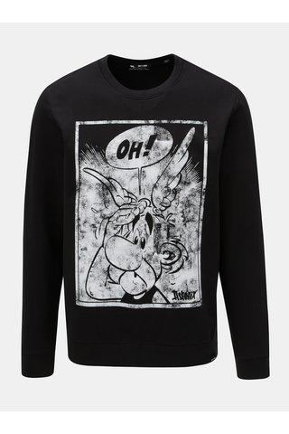 Bluza sport neagra cu imprimeu ONLY & SONS Astrix