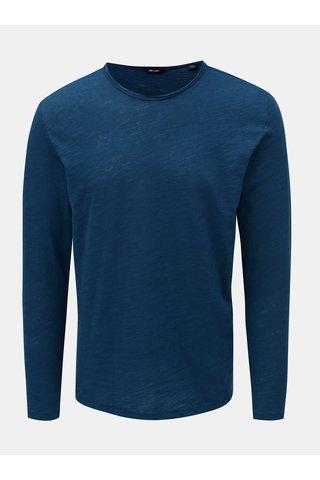 Tricou albastru melanj ONLY & SONS Albert