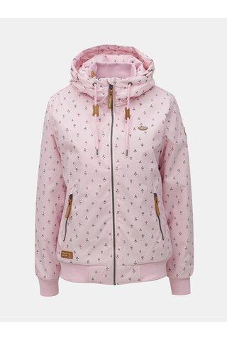 Jacheta functionala roz cu model si gluga Ragwear Nuggie