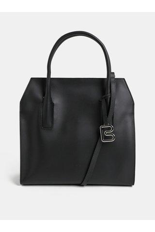 Černá kožená kabelka BREE Cambridche