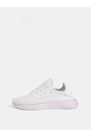 Tenisi de dama roz-alb din plasa adidas Originals Deerupt