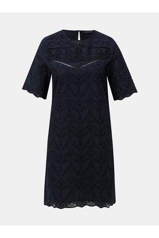 Rochie albastru inchis cu madeira Dorothy Perkins