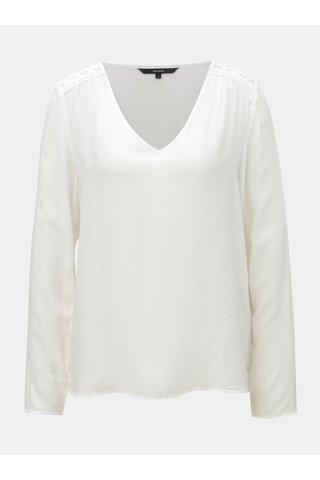 Bluza alba cu detalii din dantela VERO MODA Susan