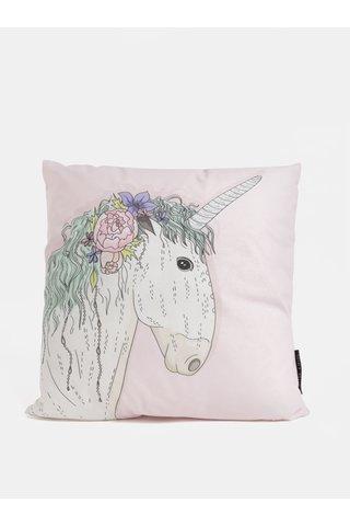 Perna roz deschis cu motiv unicorn Butter Kings