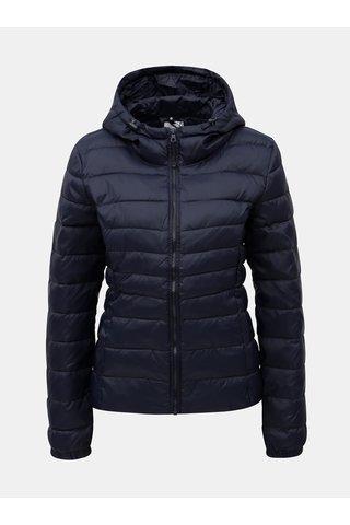 Jacheta albastru inchis matlasata ONLY