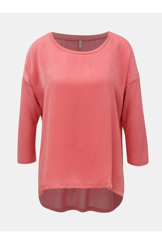 Bluza roz cu maneci 3/4 ONLY Bern