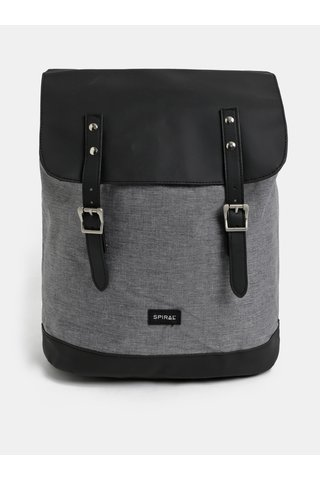 Černo-šedý batoh Spiral Soho 16 l