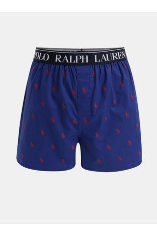 Tmavě modré pánské trenýrky s motivem POLO Ralph Lauren